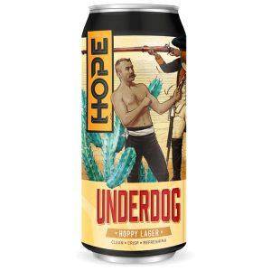 Hope Beer Underdog Lager