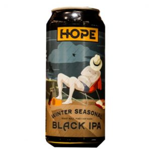Hope Beer Winter Seasonal Black Ipa