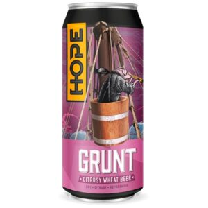 Grunt Wheat Beer Hope Beer